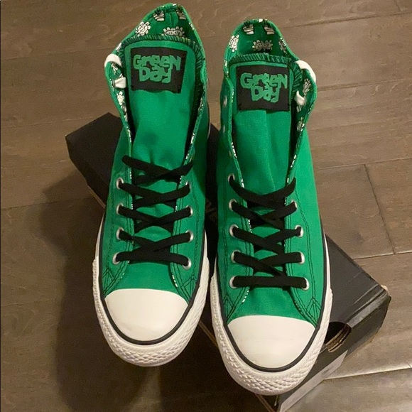 Converse Shoes | Converse Green Day